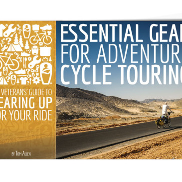 El libro / manual para ciclistas de travesía.