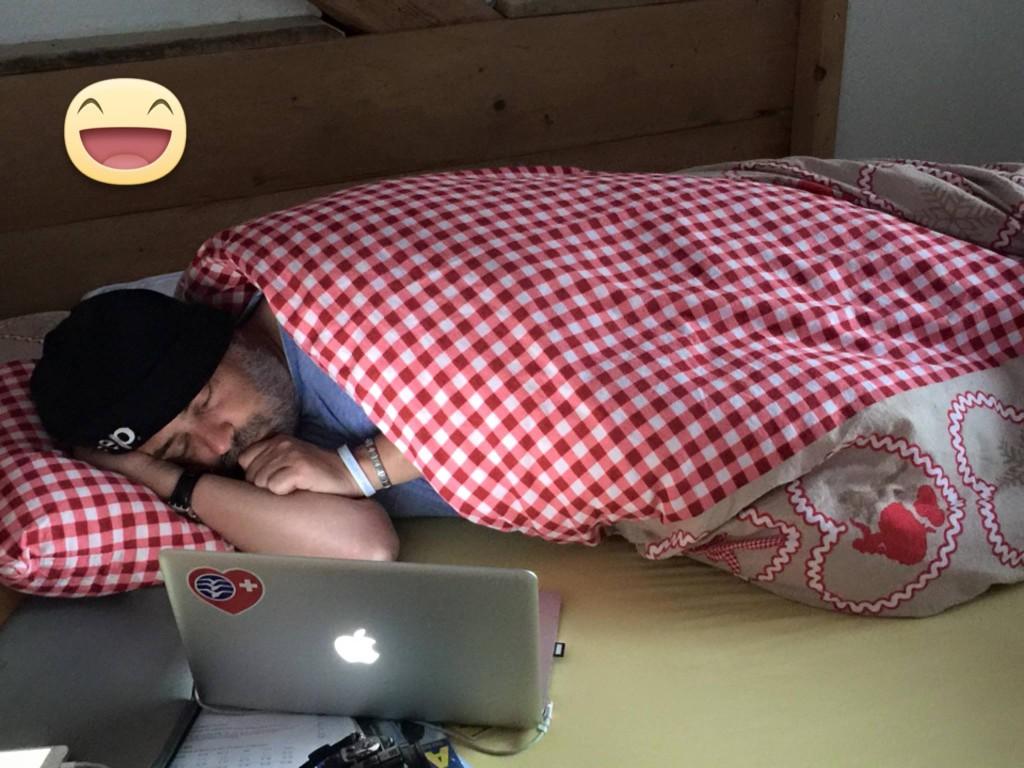 Grippewelle in Tirol, hat mich voll erwischt.