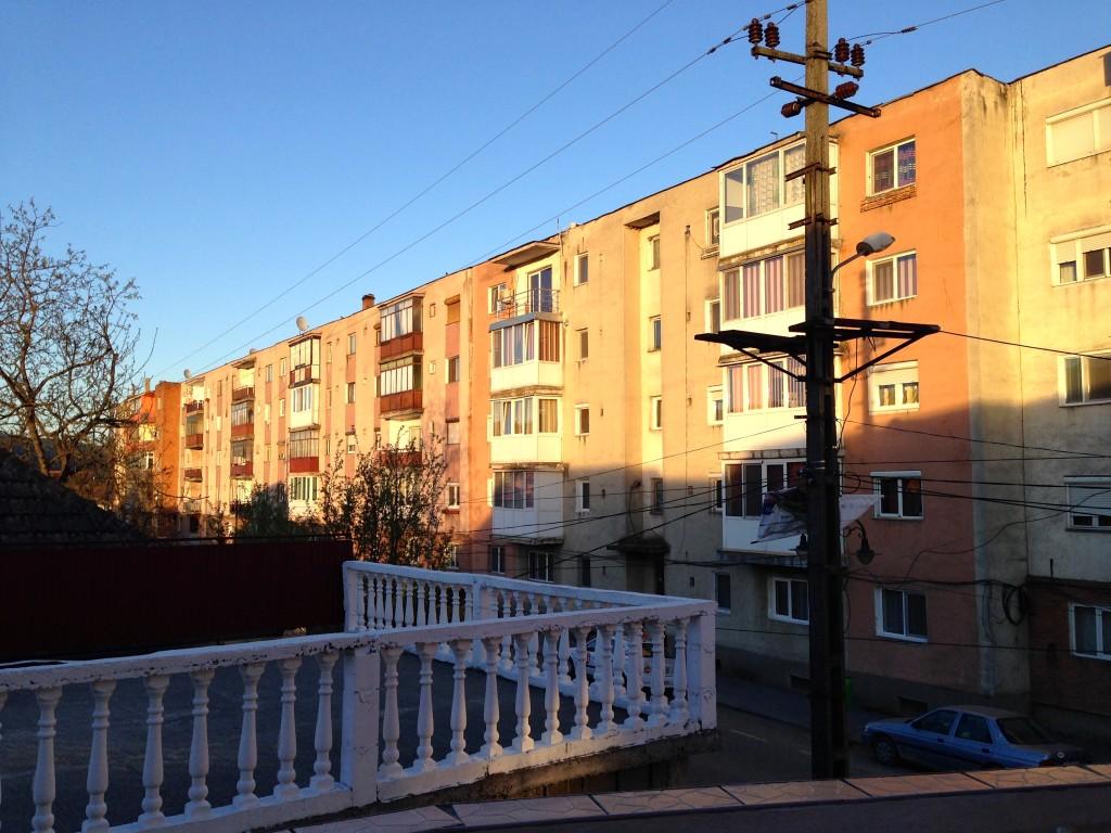 Stadt Lipova (Provinz Arad) und das Kommunistische Erbe