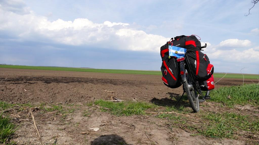 Las vastas extensiones agrícolas de la zona de Komárom - Esztergom