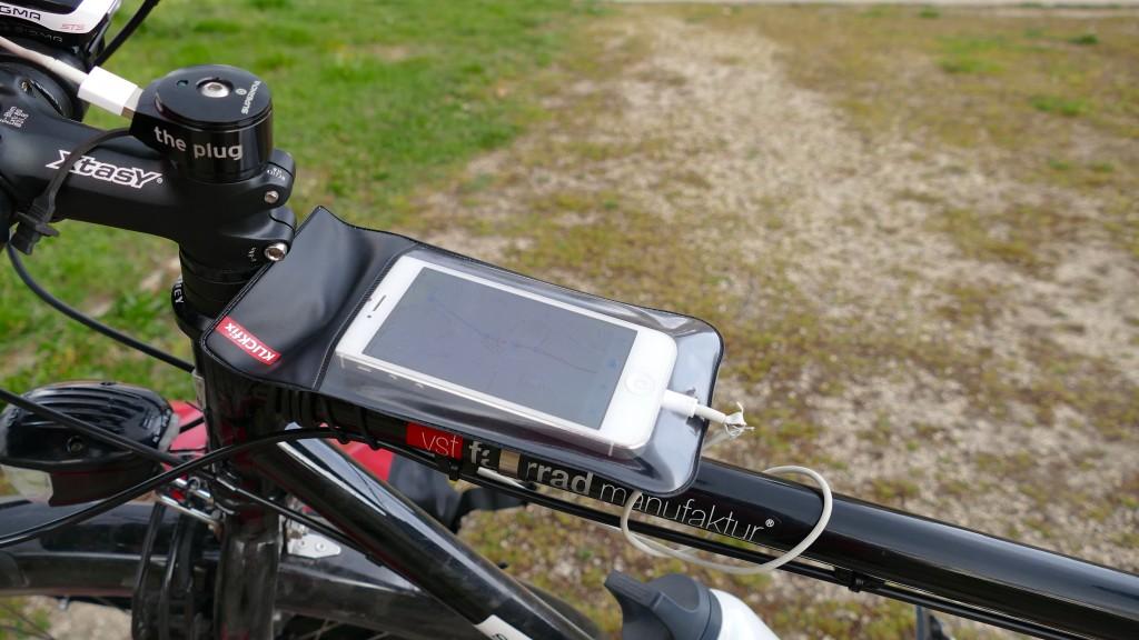 El nuevo porta telefono / navegador GPS