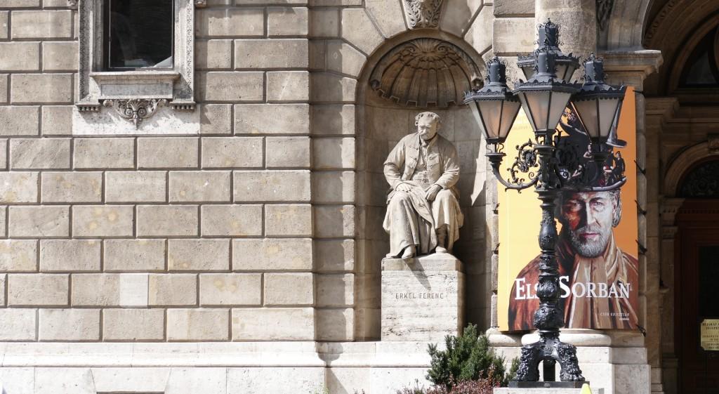 Eros Pram, el promotor del teatro de la opera, compositor y autor de la musica del himno nacional Húngaro.