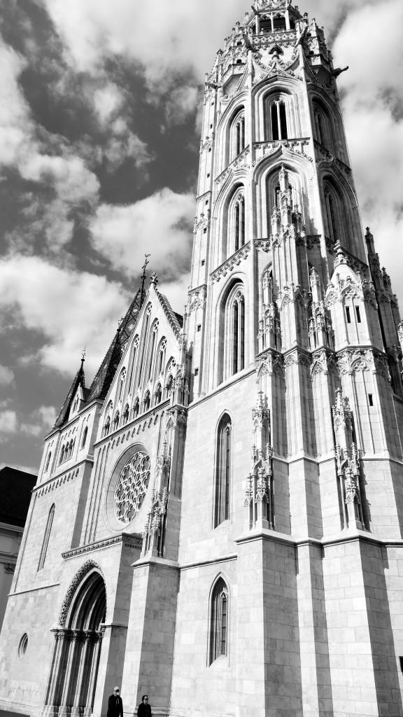 Iglesia de San Matias en Buda, una de las construcciones mas antiguas de la ciudad del siglo XIII