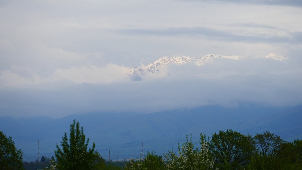 The Faragas Mountains
