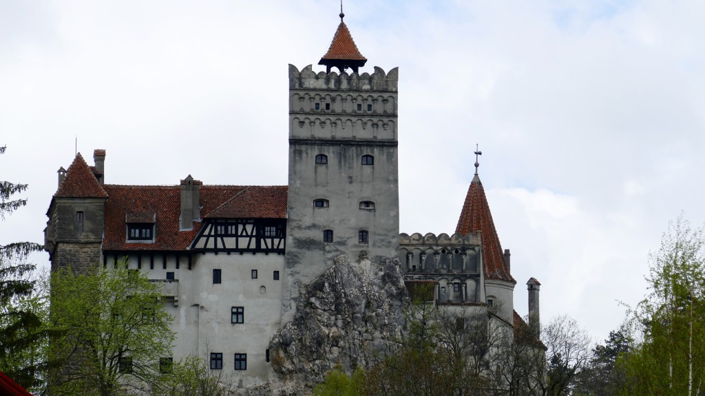 Bran Castle or for touristic purposes: The Dracula Castle