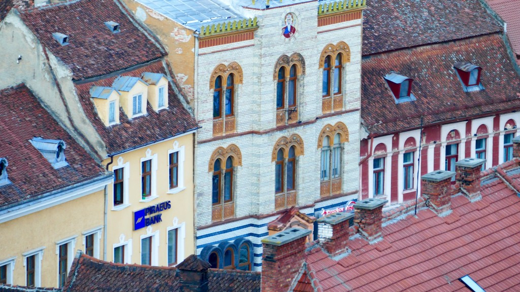 Brasov (Kronstadt) -Fronts of the city
