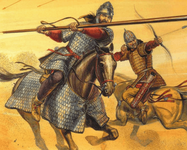 Jinetes Sármatos (caterphraktus y sagittarius)