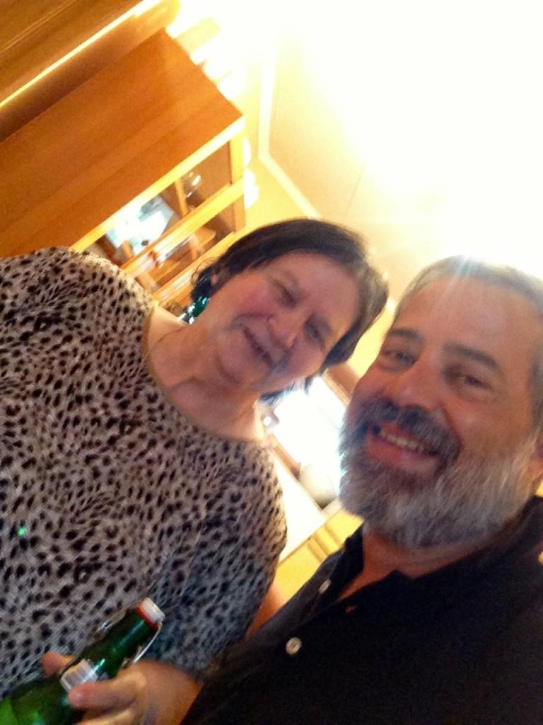 con Maria de la Pensinea Onea