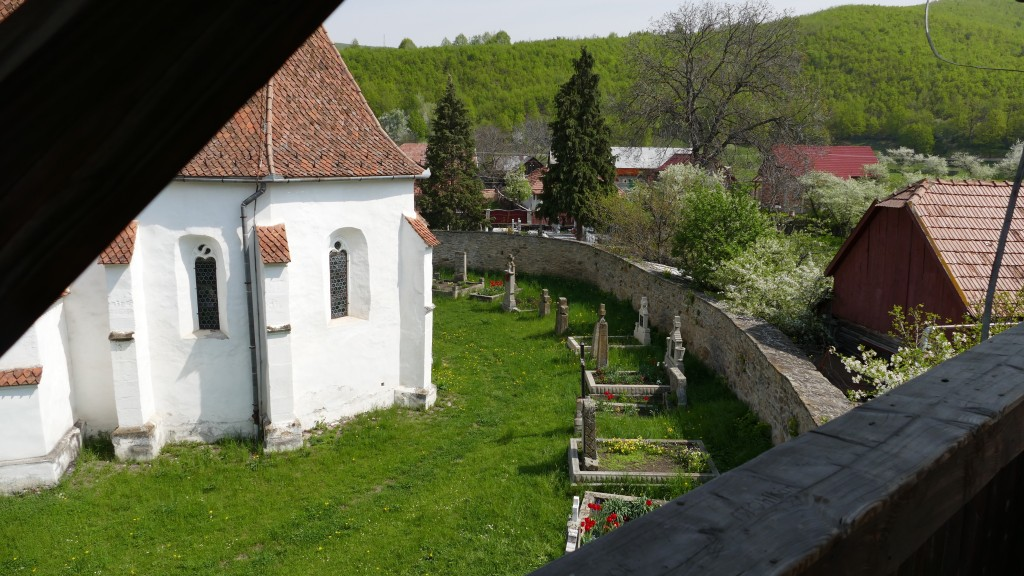 Roman Catholic Fortress Church in Ghelinta (Covasna County) build in the 13th. Century