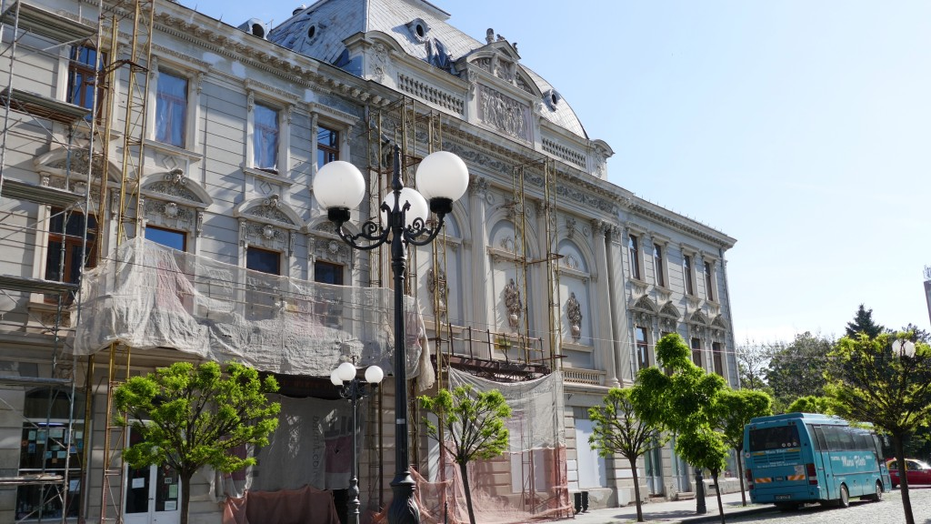 Braila, old town