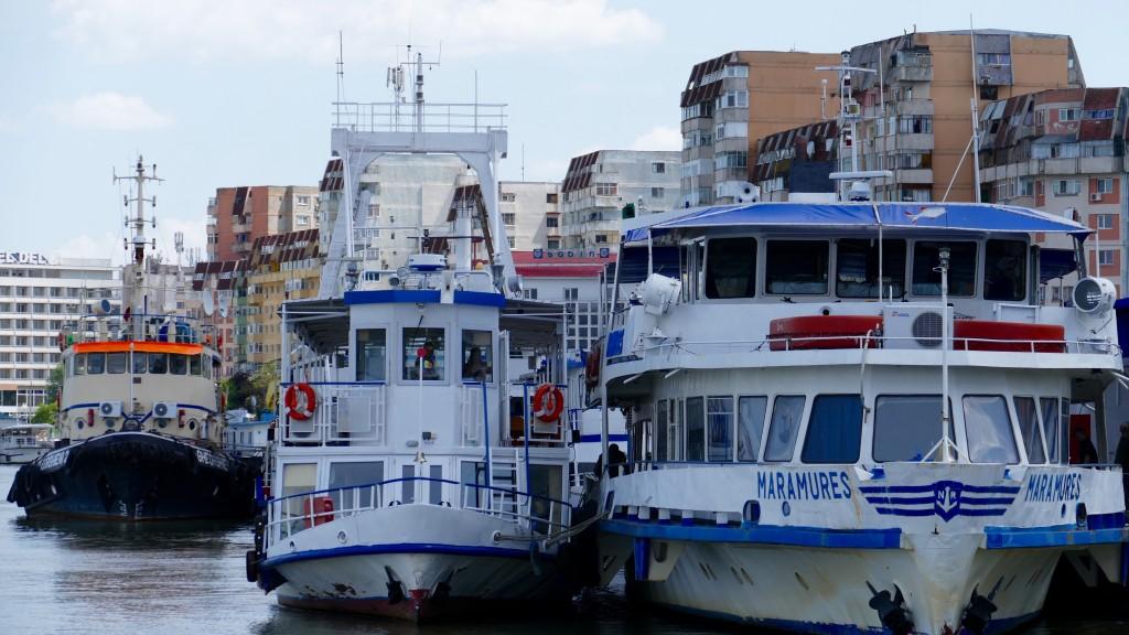 Tulcea Harbour