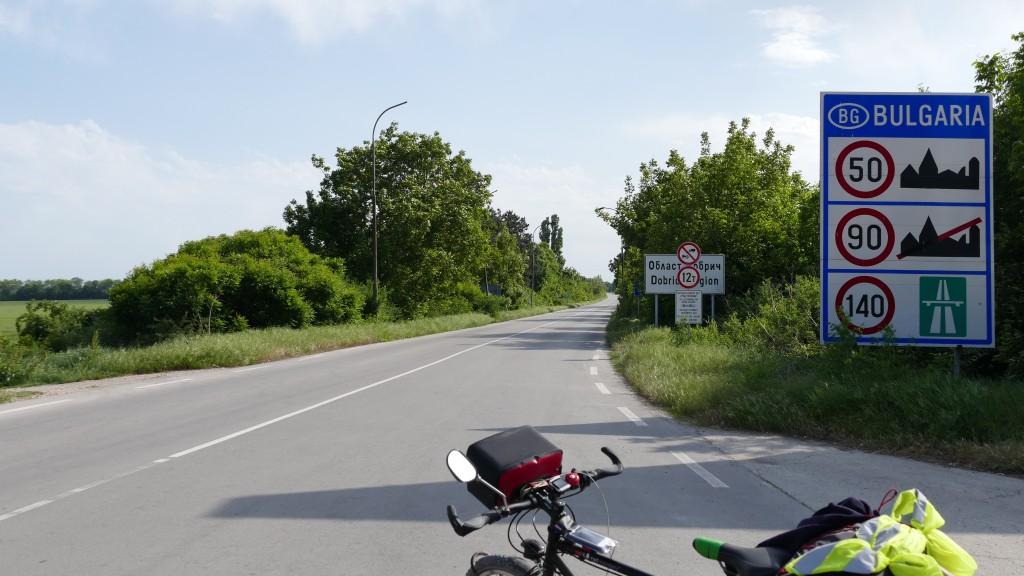 Entering Bulgaria 20.05.2015