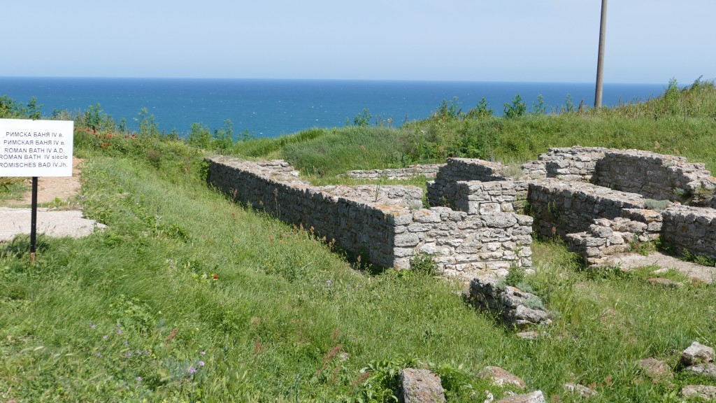 Cape Kaliakra and Kaliakra Fortress - The former Sauna