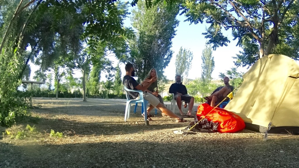 small talking at Göreme Camping