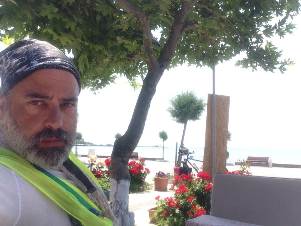 Silivri. Yes, well I mean NO! I was absolutely not motivated to bike today. It was late, hot, and I was tired.