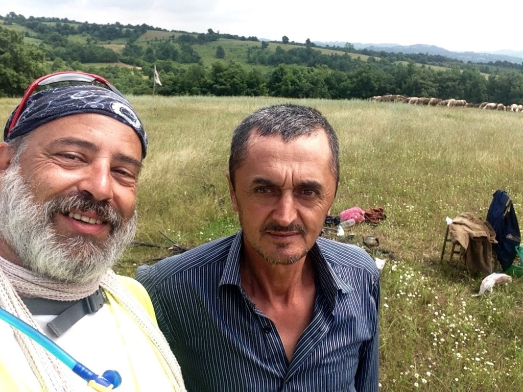 Osman, the friendly shepherd who invites me for a çay.