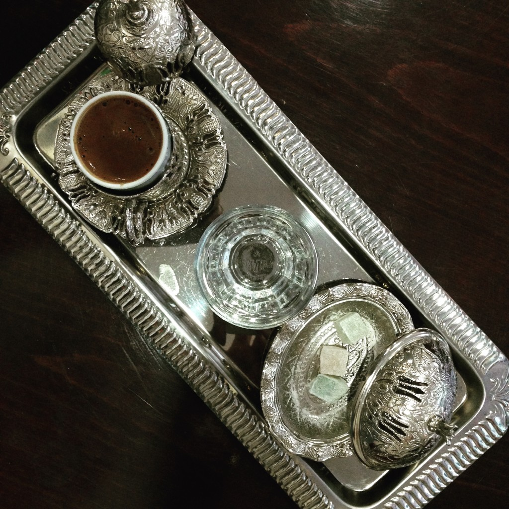 Yes, I like turkish coffee. sweet if possible. It requires time and constrain you to slow down.