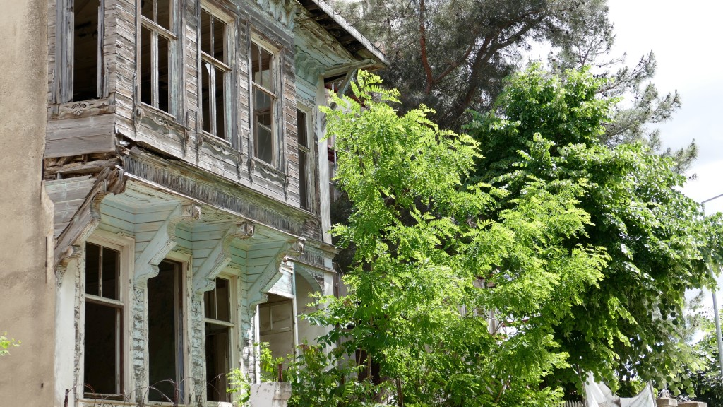 the old town at Kirklareli with a typical ottoman villa. (currently is being renewed)