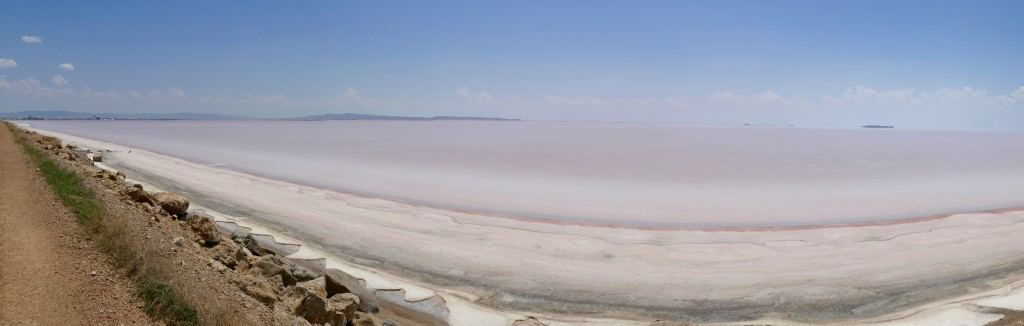 The salt lake at Sereflikochisar.