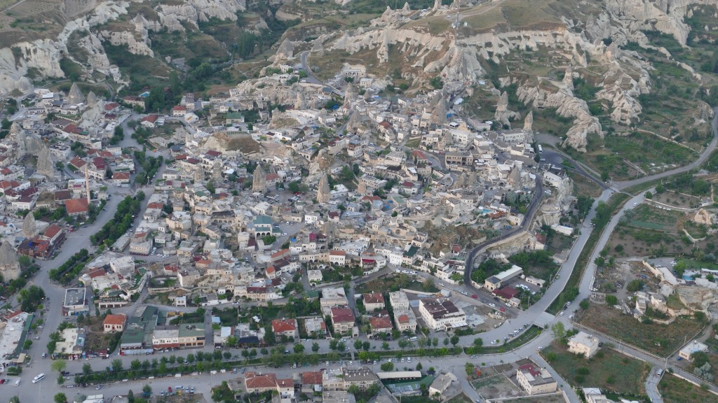 Air View of Göreme.