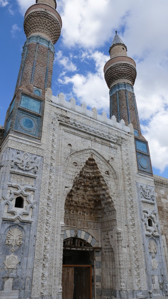 SKY MADRASSAH - Old Town - SIVAS, Anatolia  Build in 1271 is currently being restored and is planned to function as an Seljuk Museum.