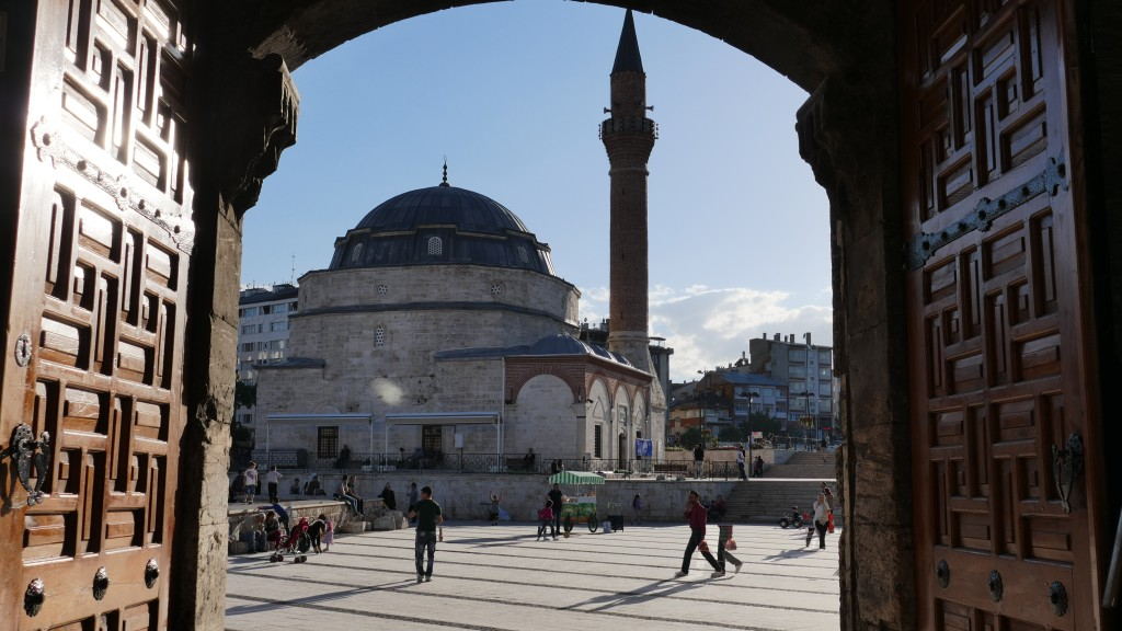 Castel Mosque build 1580 by Sultan Murad III - Old Town - SIVAS, Anatolia