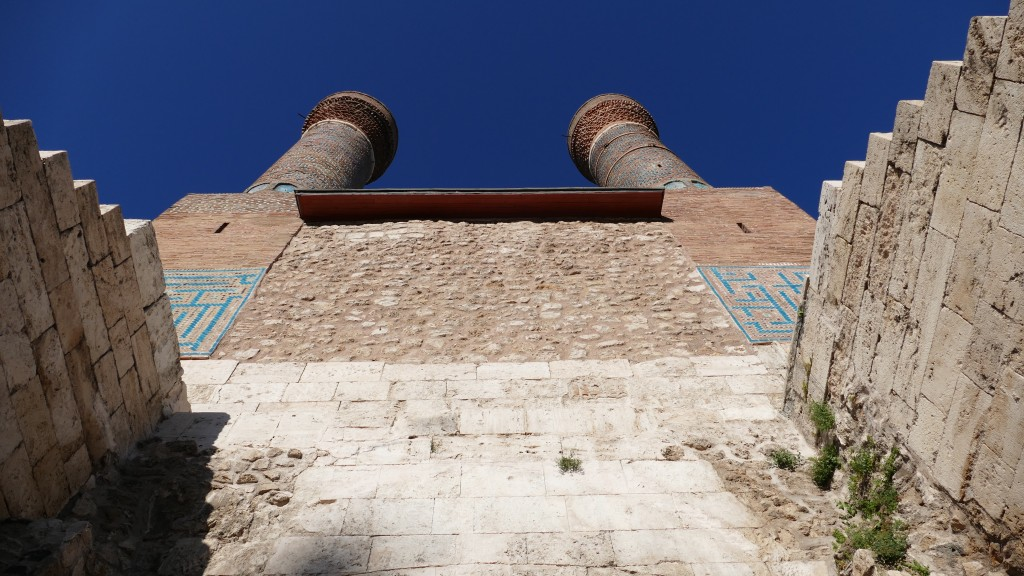 The Madrassah wit twin minarets- Old Town - SIVAS, Anatolia