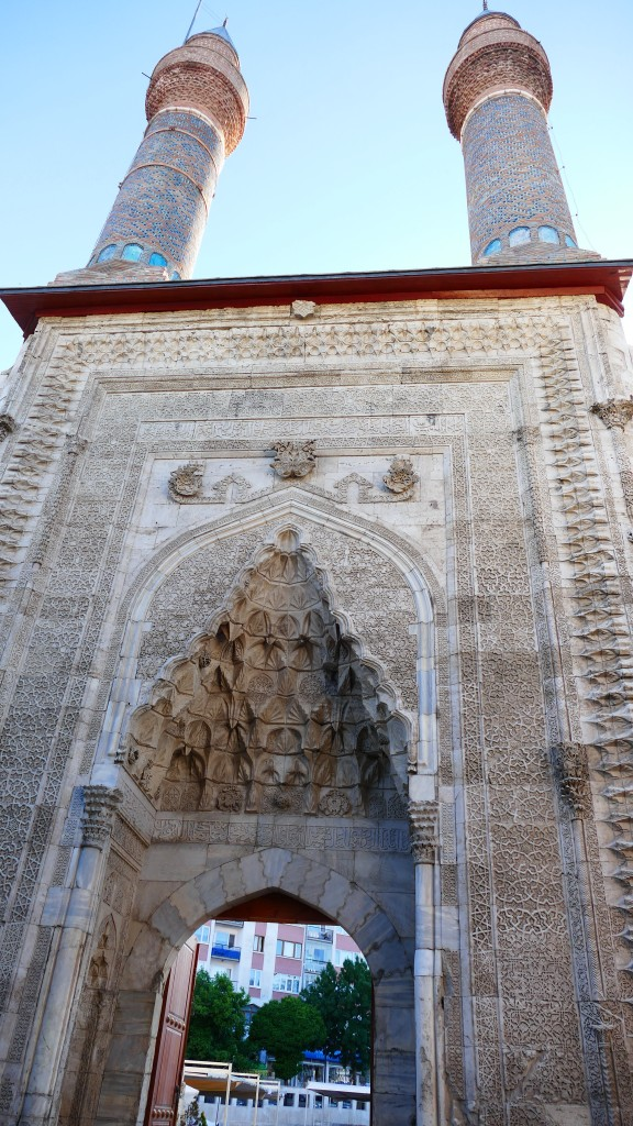 The Madrassah wit twin minarets - Old Town - SIVAS, Anatolia