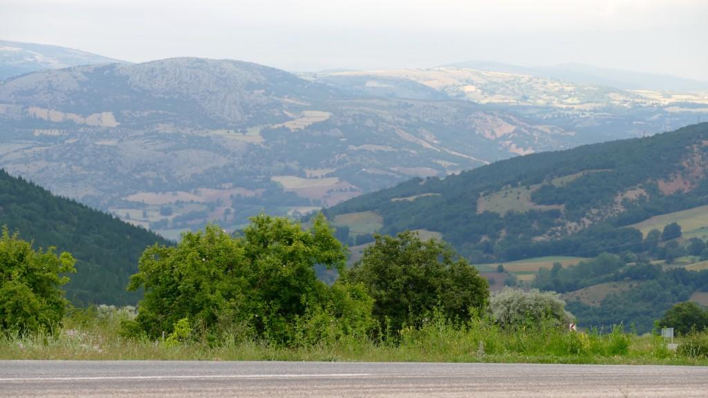 the Yeşilırmak Mounts