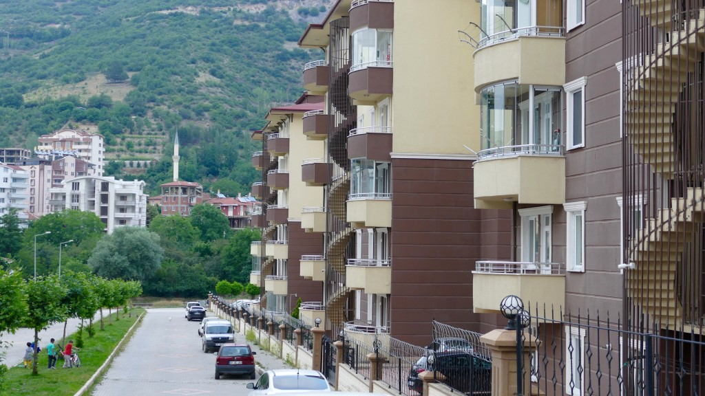 A modern neighbourhood in Tokat