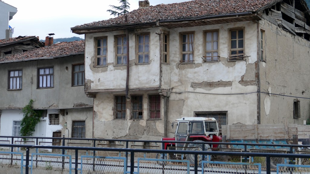 Old houses in Tokat