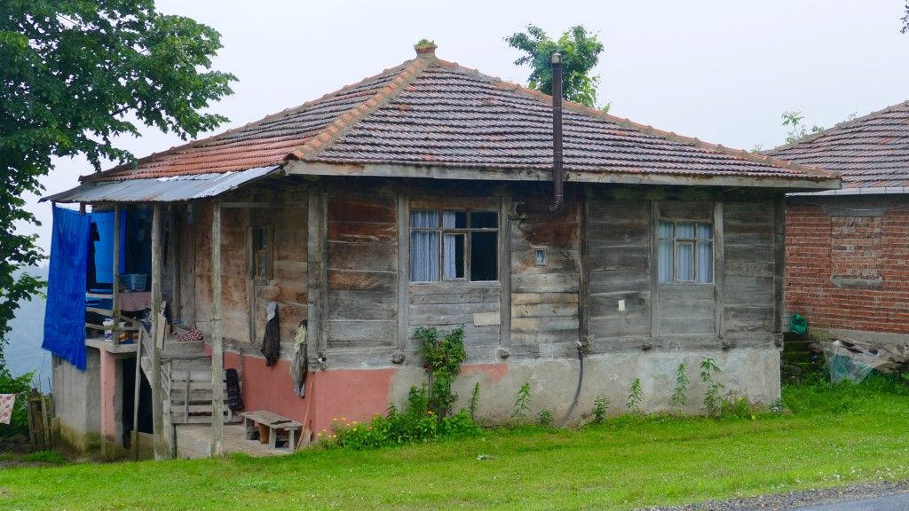 A typical House in this mountainous region.