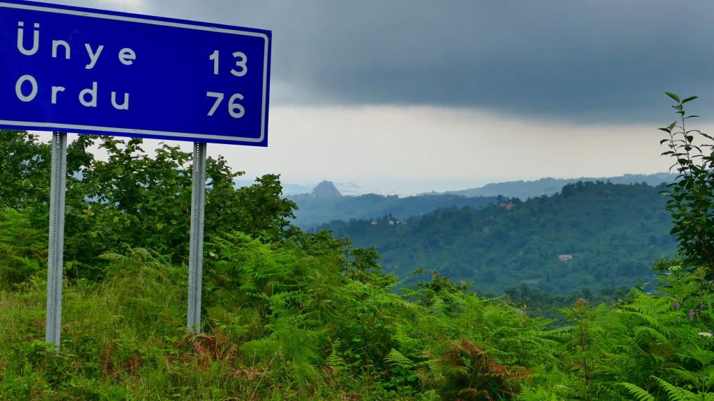 Crossing the CANIK DAGLARI (Mountain range within the Pontic Mountains)