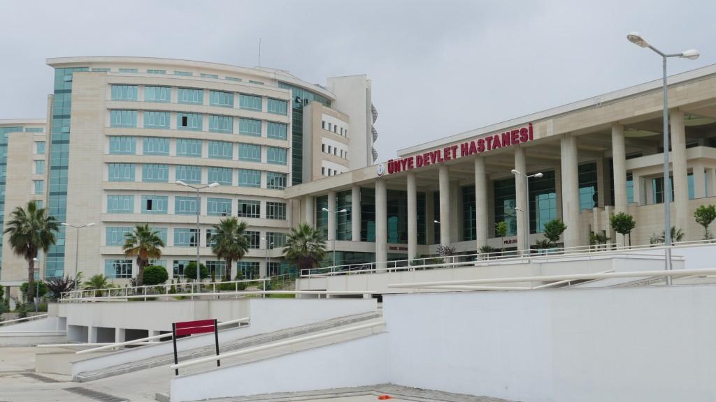The public hospital of Ünye.