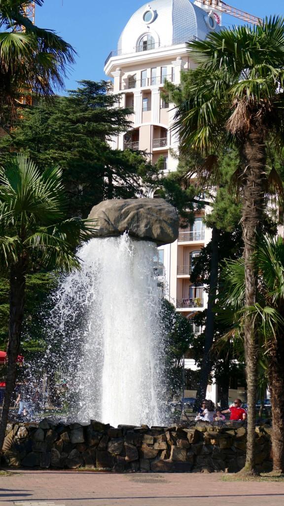 the 6th May Park in Batumi