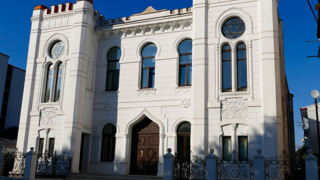 the Synagogue in Batumi