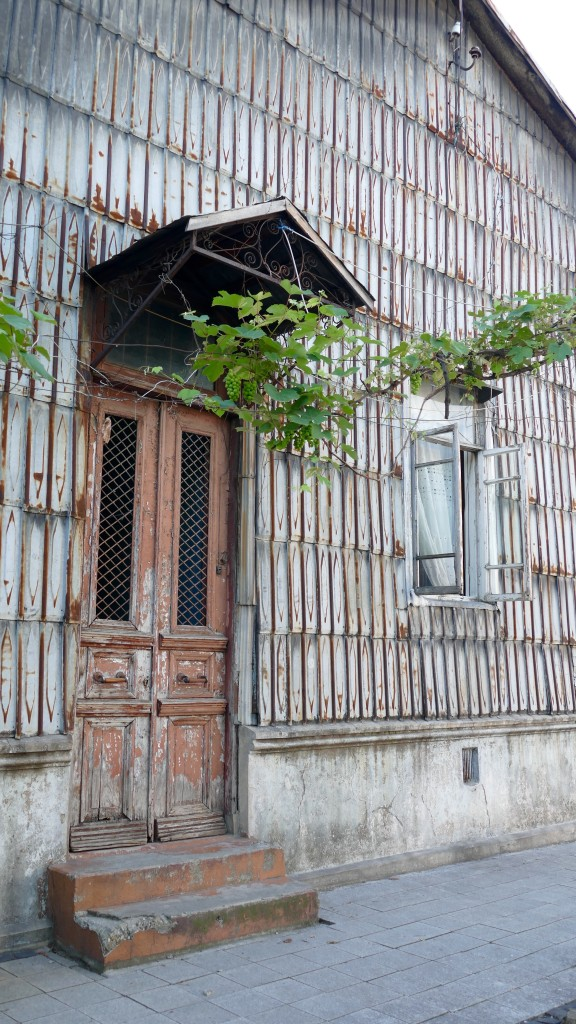 typical old house i Batumi.