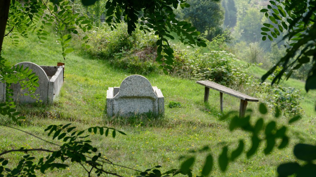 A bench to hold a post mortem talk with your relatives or friends.