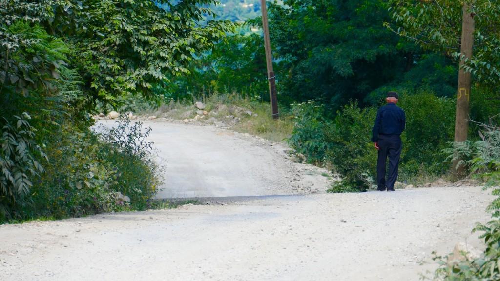 the Batumi - Akhaltsikhe Road was more a trail than a road.