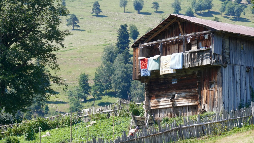 Farmers House on the East side of the Goderdzi Pass