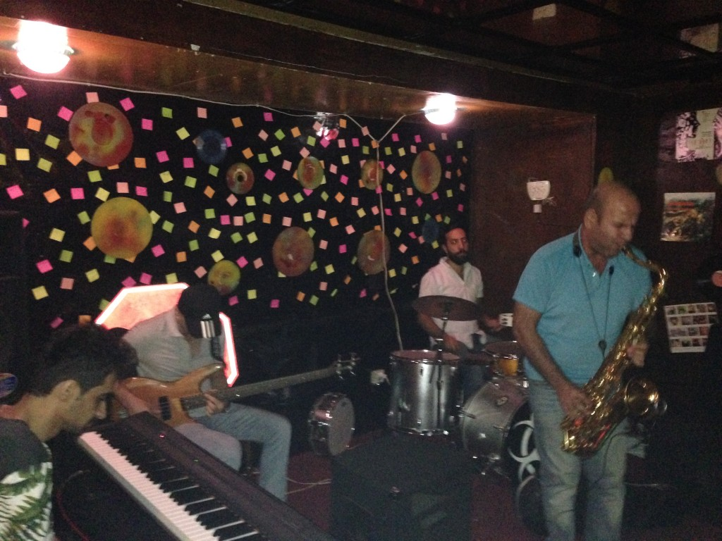"Jam Session at ""Le Chateau"" in Baku City"