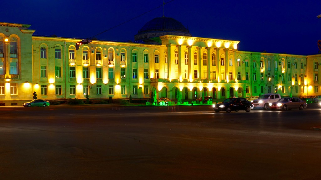 Gori's Town Hall. Gori and its environs house several notable cultural and historical landmarks. Although for many foreigners Gori is principally known as the birthplace of Joseph Stalin.
