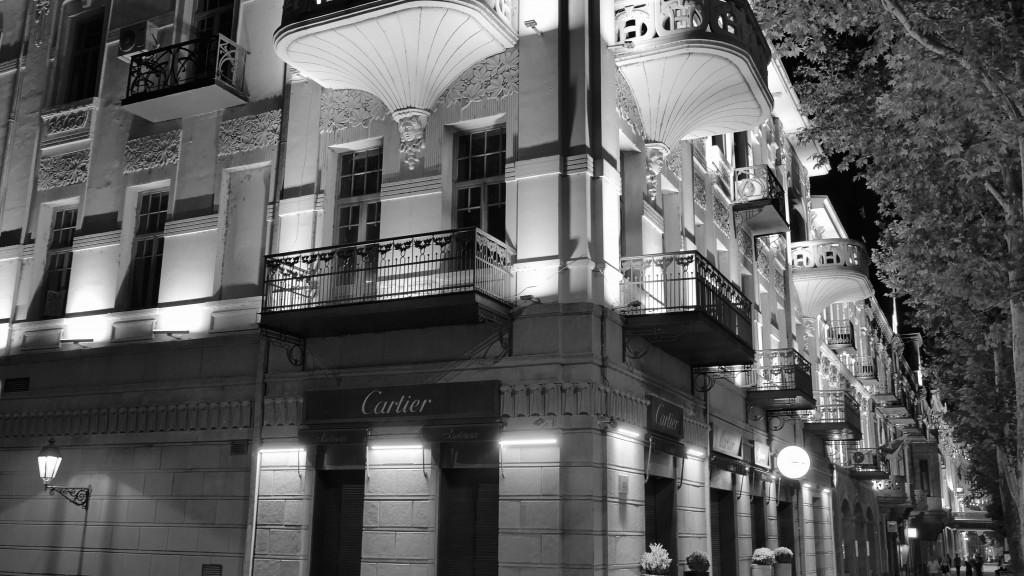 Cartier Building in Rushtaveli Ave.  Art Nouveu.