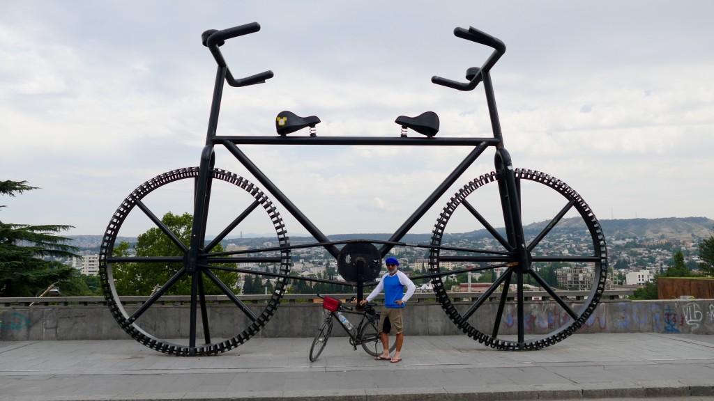 Biking 4 Happiness in Tbilisi
