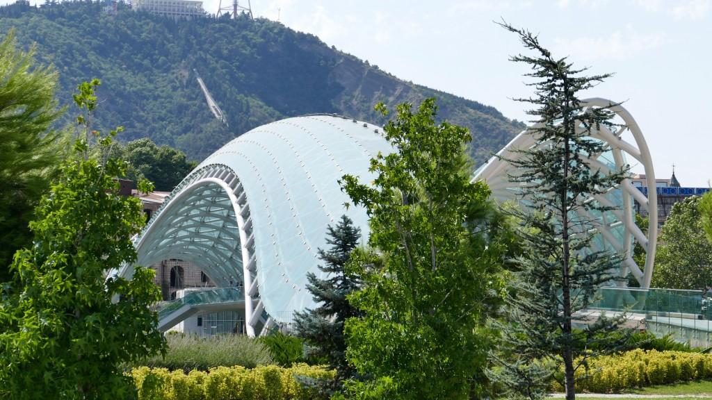 The Bridge of Peace - Tbilisi