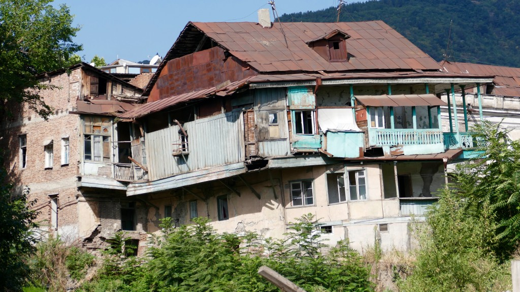An old house in Tbilisi