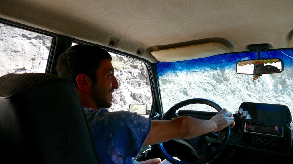 Our taxidriver from Lahic to Ismayilli