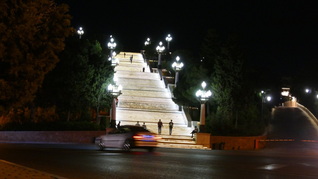 Stairways to heaven, BAKU by night
