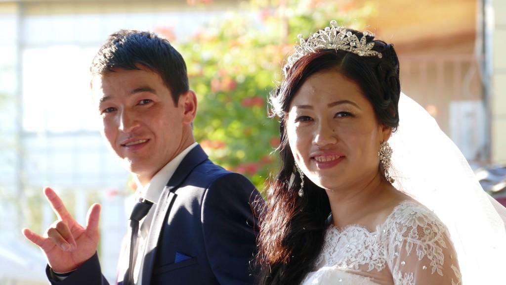 the second wedding in Aktau