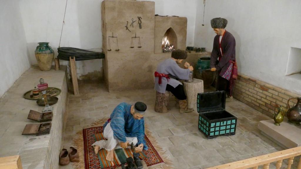 craftsmen in Khiva